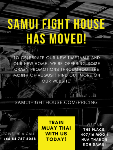 Samui Fight House Muay Thai – The ONLY place in Koh Samui for Muay Thai