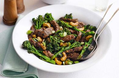 Thai Beef Cashew Stir Fry